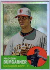 2012 Topps Heritage Chrome Madison Bumgarner /563