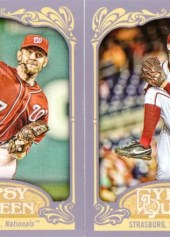 2012 Topps Gypsy Queen Stephen Strasburg Base Card