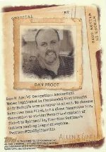 2012 Topps Allen Ginter Dan Proot Code