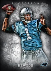 2012 Topps Inception Cam Newton Base