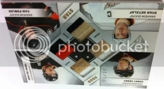 2011/12 Panini Titanium Four Star Prime Quad Jersey Card