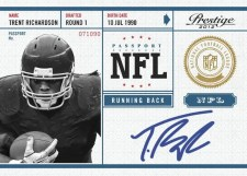 2012 Panini Prestige Trent Richardson Browns Autograph