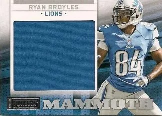 2012 Panini Playbook Mammoth Materials #31 Ryan Broyles