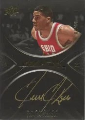 2011-12 Upper Deck Exquisite UD Black Jim Jackson Autograph #/10