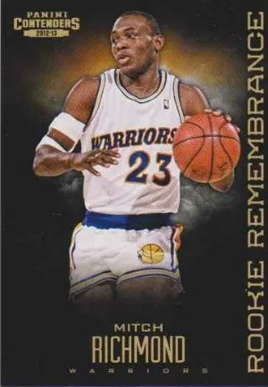 12/13 Panini Contenders Rookie Remembrance Mitch Richmond
