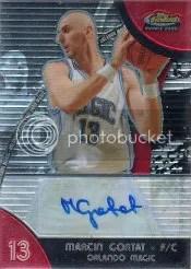 2007-08 Topps Finest Marcin Gortat Autograph #94