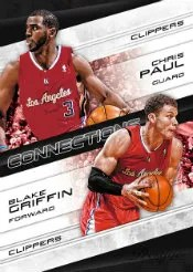 2012-13 Panin Prestige Chris Paul - Blake Griffin Connections Insert Card