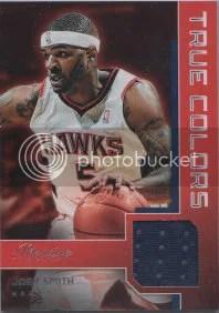 2012-13 Panini Prestige True Colors Josh Smith Jersey Card