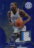 2012-13 Panini totally Certified Kevin Durant Blue Prime Jersey Card