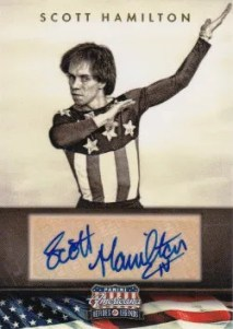 2012 Panini Americana Heroes and Legends Scott Hamilton Autograph