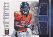2012 Panini Momentum Rookie Team Threads Dual Material Ronnie Hillman Card