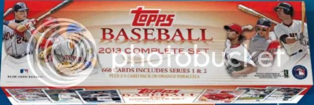 2013 Topps Baseball Factory Set