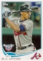 2013 Topps Opening Day #115 BJ Upton Base