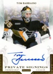 12/13 Panini Limited  Private Signings Auto