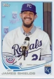 2013 Topps Opening Day #94 James Shields SP