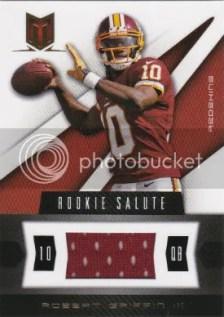 Rookie Salute Material Robert Griffin III #237/375