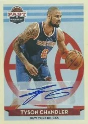 12/13 Panini Past & Present Tyson Chandler Auto Card