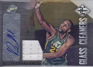 12/13 Panini Limited Glass Cleaners #21 Al Jefferson #/49