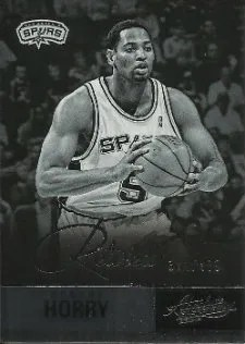 12/13 Panini Absolute Retired Legend Robert Horry Card #/499