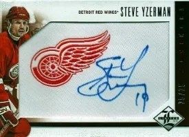 12/13 Panini Limited Monikers SP #1 Steve Yzerman