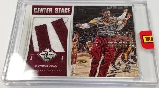 2013 Panini Black Box Center Stage Kyrie Irving Patch