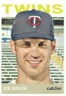 2013 Topps Heritage Joe Mauer Color