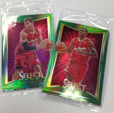 12/13 Panini Select Prizm Green Industry Summit Exclusive Packs