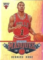 12/13 Panini Marquee Derrick Rose Base
