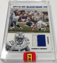 2013 Panini Black Box Black & Blue DeMarco Murray