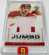 2013 Panini Black Box Steve Yzerman Jumbo Patch