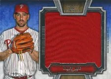 2012 Topps 5 Star Cliff Lee Jumbo Jersey