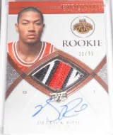 2008-09 Exquisite Derrick Rose RC