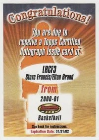 Topps Redemption