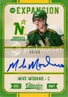 12-13 Panini Classics Mike Modano Autograph