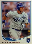 2013 Topps Alex Gordon Base