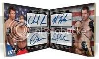 2012 Topps UFC Bloodlines Quad Auto