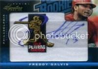 2012 Prime Signatures Freddy Galvis