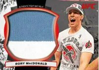 2012 Topps UFC Bloodlines Rory MacDonald