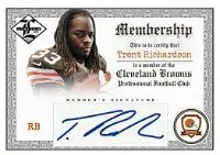 2012 Panini Limited Trent Richardson