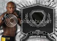 2012 Topps UFC Anderson Silva Relic
