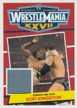 2012 Topps Heritage WWE Mat Relic