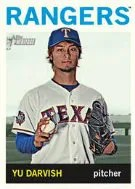 2013 Topps Heritage Yu Darvish Mini