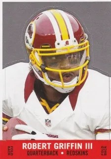 2013 Topps Archives 1968 Stand-Up #68SU-RG Robert Griffin III