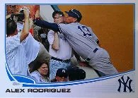 2013 Topps Alex Rodriguez Out of Bounds