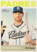 2013 Heritage Chase Headley Color Sp