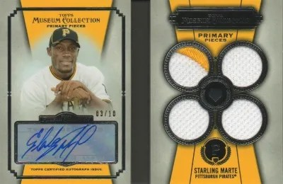 2013 Topps Museum Collection #PPAR-SMA Starling Marte