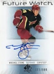 2012-13 Sp Authentic Michael Stone Future Watch