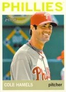 2013 Heritage Cole Hamels Color Variation
