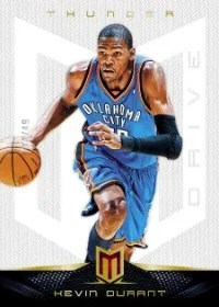 12/13 Panini Momentum Kevin Durant Base Parallel