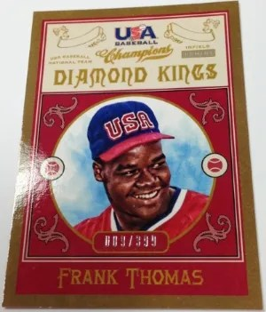2013 Panini Diamond Kings Frank Thomas Insert